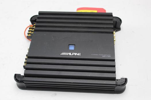 Alpine Amplifier