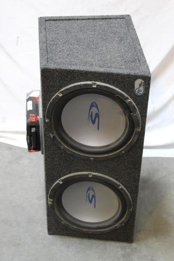 Alpine Car Speaker With Kenwood Music Keg