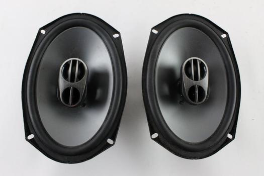 Alpine Car Speakers, 2 Pieces