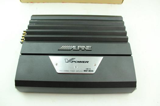 Alpine Power Amp
