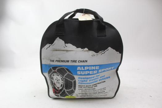 Alpine Super Sport Tire Chain & Jumper Cables; 2 Pieces