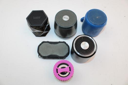 Altec Lansing, Sony, & More Assorted Speakers; 6 Pieces