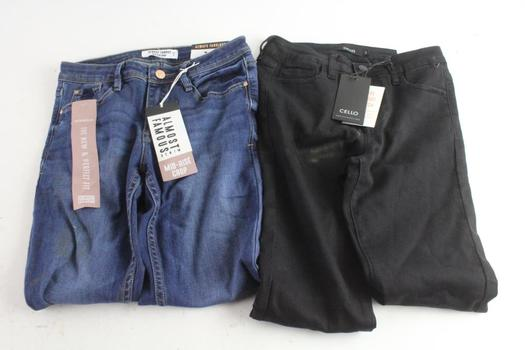 Always Famous Jeans Size 3 And Cello Jeans Size 3, 2 Pieces