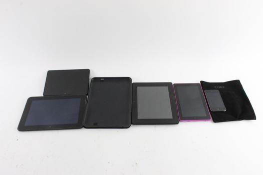 Amazon Kindle Fire HD Tablet And More, 5 Peices