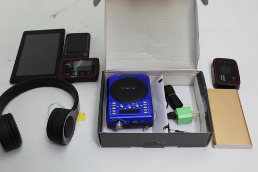 Amazon Tablet, Horacio Radio, Polanfo Powerbank+ More 10+ Pieces