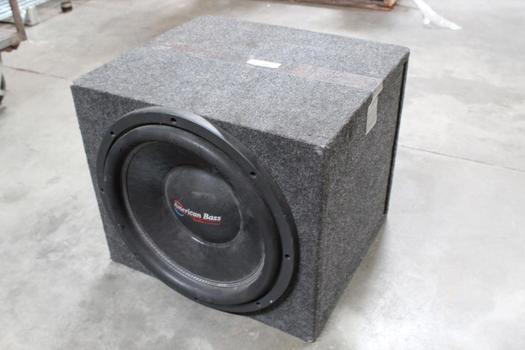American Bass Car Speaker And Speakerbox