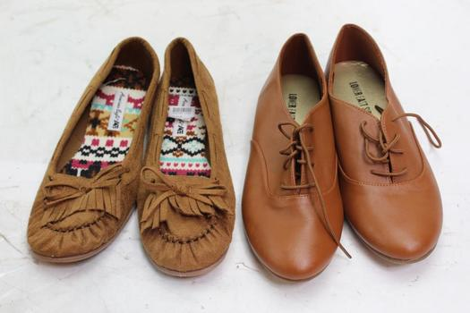 American Eagle And Lower East Side Women's Shoes, Size 7, 2 Pairs