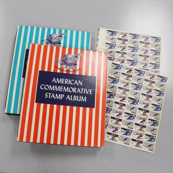 American Stamps Albums, 153+ Stamps