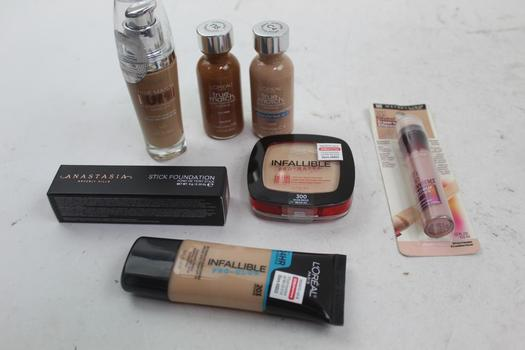 Anastasia Beverly Hills, Maybelline, & L'oreal Assorted Cosmetics; 7 Pieces