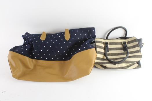 Andeawy Handbag And Strike Purse, 2 Pieces