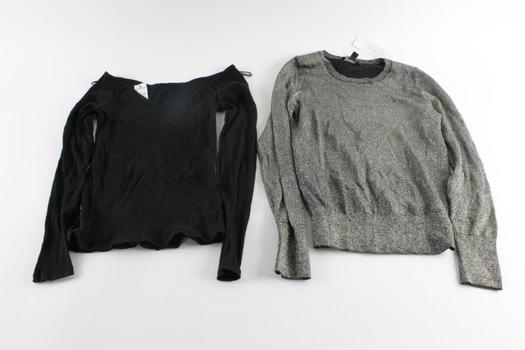 Ann Taylor Long Sleeve Shirt Size Extra Small And More, 2 Pieces