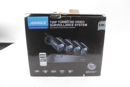 Annke 720P Turbo HD Video Surveillance System With DVR