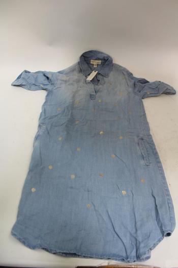 Anthropology Womens Denim Shirt ; Size Xs