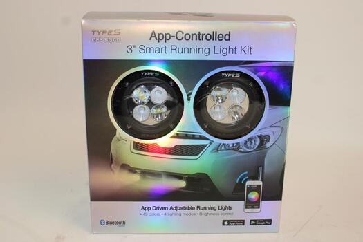 "App- Controlled 3"" Smart Running Light Kit"