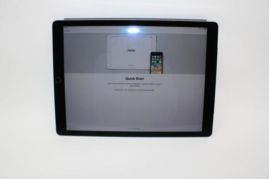 """Apple 12.9"""" IPad Pro 1st Gen, 128GB, Unknown Carrier, Activation Locked, Sold For Parts"""