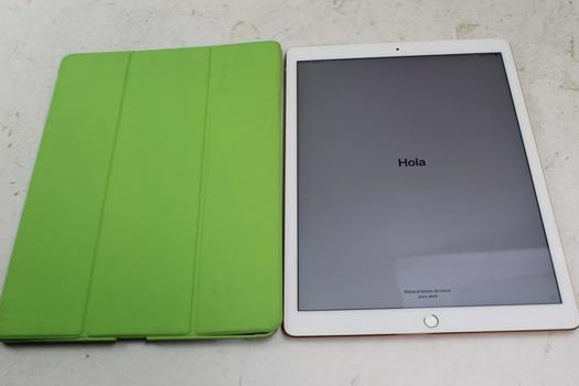 """Apple 12.9""""  IPad Pro 2nd Gen, 256GB, Unknown Carrier, Activation Locked, Sold For Parts"""