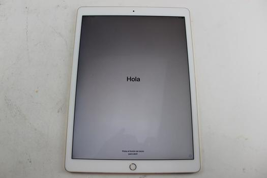 """Apple 12.9"""" IPad Pro 2nd Gen, 256GB, Wi-Fi Only, Activation Locked, Sold For Parts"""