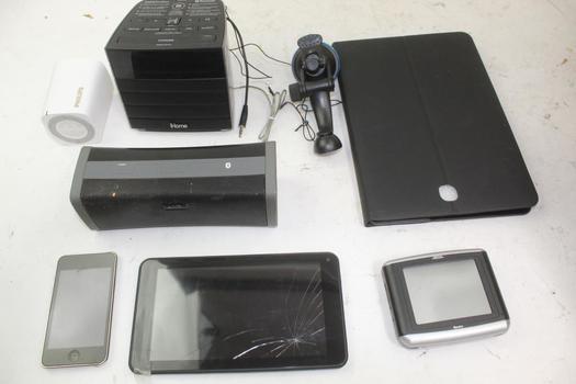 Apple 32gb Ipod, Speakers, & More; 5+ Pieces