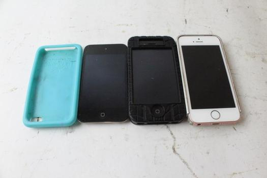 Apple Cell Phone Lot, 2 Pieces, Sold For Parts And More