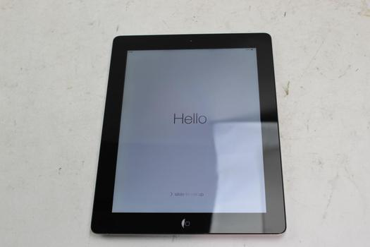Apple IPad 4th Gen, 128GB, Wi-Fi Only, Activation Locked, Sold For Parts