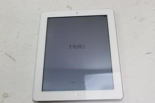 Apple IPad 4th Gen, 16GB, Wi-Fi Only, Activation Locked, Sold For Parts