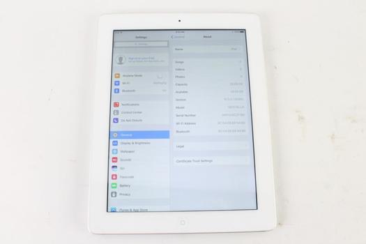 Apple IPad 4th Gen, 32 GB