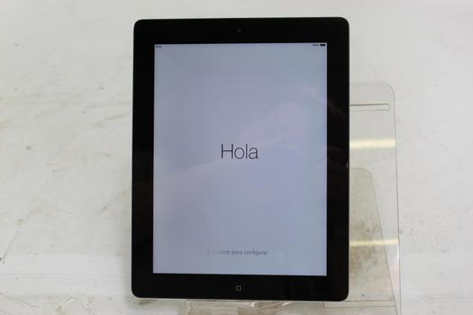 Apple IPad 4th Gen, 32GB, Wi-Fi Only, Activation Locked, Sold For Parts