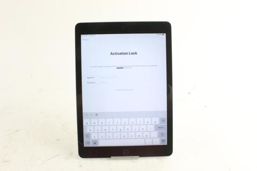 Apple IPad, 6th Gen, Activation Locked, Sold For Parts