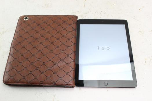 Apple IPad Air 1st Gen, 16GB, T-Mobile, Activation Locked, Sold For Parts
