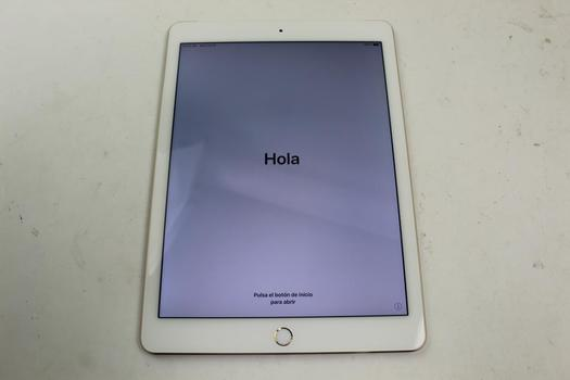 Apple IPad Air 2, 32GB, Unknown Carrier, Activation Locked, Sold For Parts
