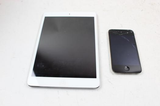 Apple IPad, Amazon Kindle Tablet And More, 4 Pieces