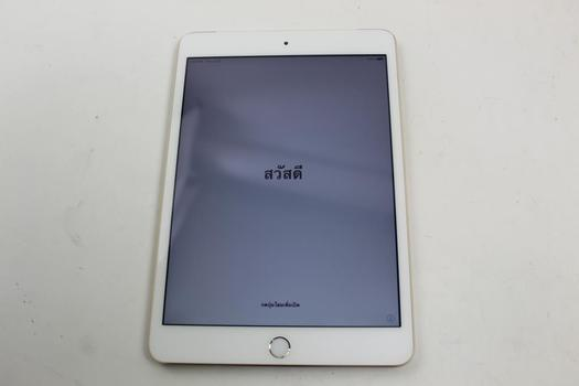 Apple IPad Mini 3, 16GB, Unknown Carrier, Activation Locked, Sold For Parts