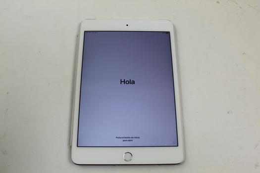 Apple IPad Mini 4, 64GB, Unknown Carrier, Activation Locked, Sold For Parts