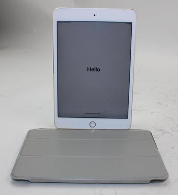 Apple IPad Mini 4th Gen, 128GB, Unknown Carrier, Activation Locked, Sold For Parts