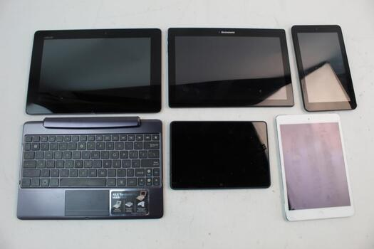 Apple IPad, Tablets Bulk Lot And Other 6 Items