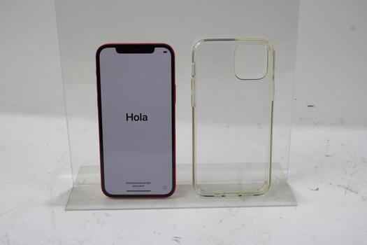 Apple IPhone 12, 64GB, Unknown Carrier, Activation Locked, Sold For Parts