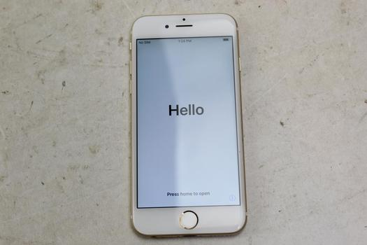Apple IPhone 6, 64GB, Unknown Carrier, Activation Locked, Sold For Parts