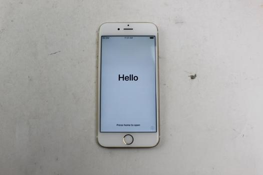 Apple IPhone 6S, 32GB, AT&T, Activation Locked, Sold For Parts