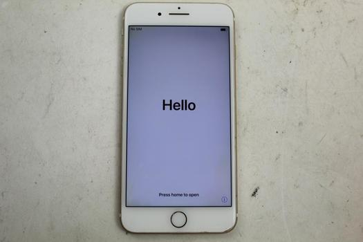 Apple IPhone 7 Plus, 128GB, Unknown Carrier, Activation Locked, Sold For Parts