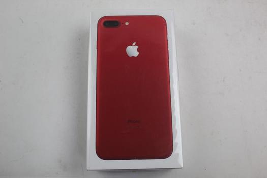 Apple Iphone 7 Plus Red 128GB Model A1661 Brand New