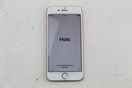 Apple IPhone 8, 64GB, Unknown Carrier, Activation Locked, Sold For Parts