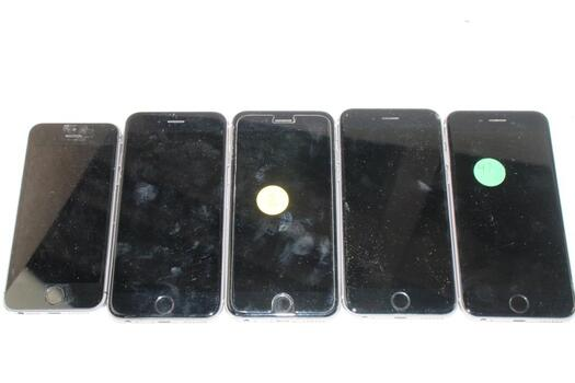 Apple IPhone Lot,  5 Pieces  Sold For Parts