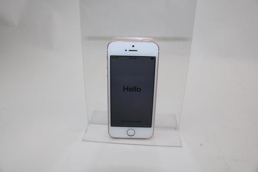 Apple IPhone SE, 16GB, Unknown Carrier, Activation Locked, Sold For Parts