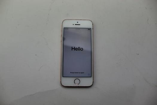 Apple IPhone SE, 32GB, Unknowm Carrier, Activation Locked, Sold For Parts