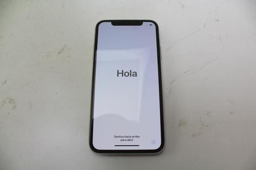Apple IPhone X, 64GB, Unknown Carrier, Activation Locked, Sold For Parts