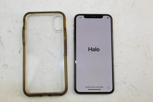 Apple IPhone XS, 64GB, Unknown Carrier, Activation Locked, Sold For Parts