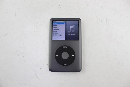 Apple IPod Classic 7th Gen, 160GB