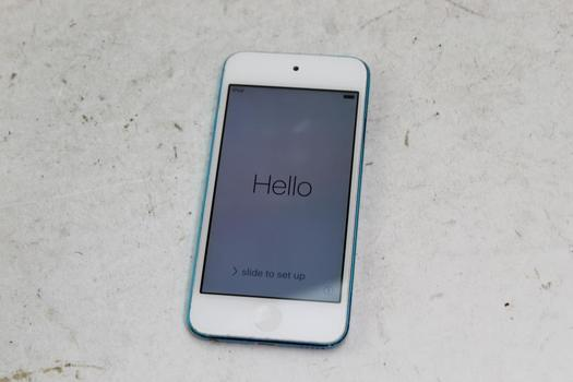 Apple IPod Touch 5th Gen, 32GB, ICloud Locked, Sold For Parts
