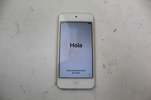 Apple IPod Touch 6th  Gen, 16GB, ICloud Locked, Sold For Parts