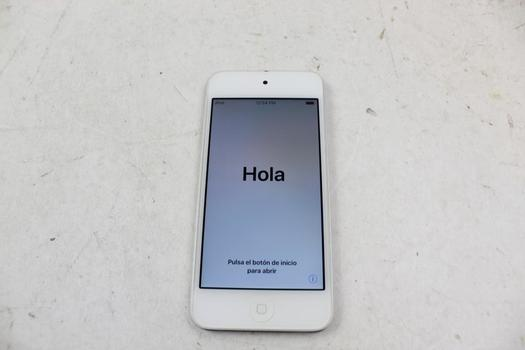 Apple IPod Touch 6th Gen, 32GB, ICloud Locked, Sold For Parts